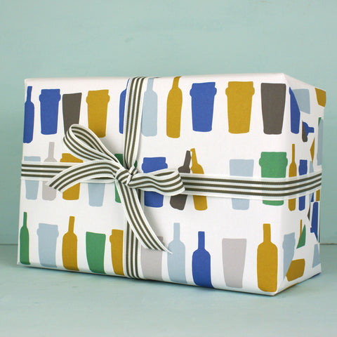Beer Glasses Gift Wrap (WR20)