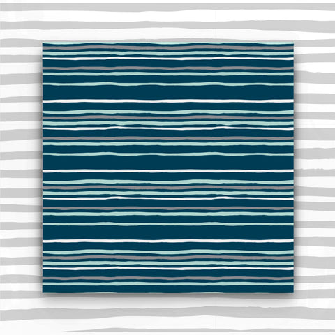 Blue Striped Gift Wrap (WR36)