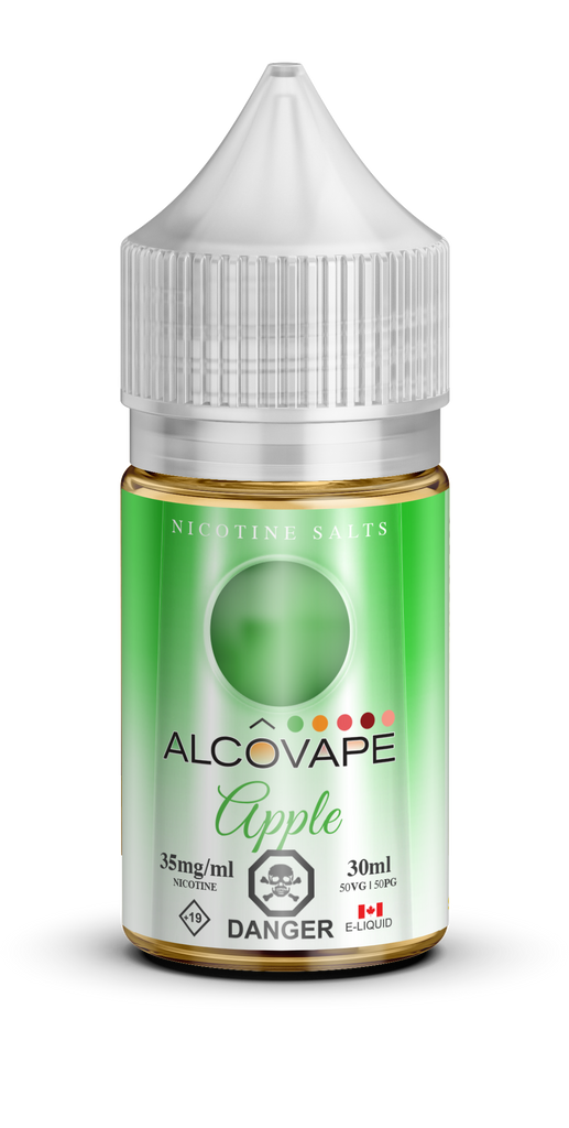 Apple SALT by Alcovape e-liquid - eMixologies Canada Online Vape Shop