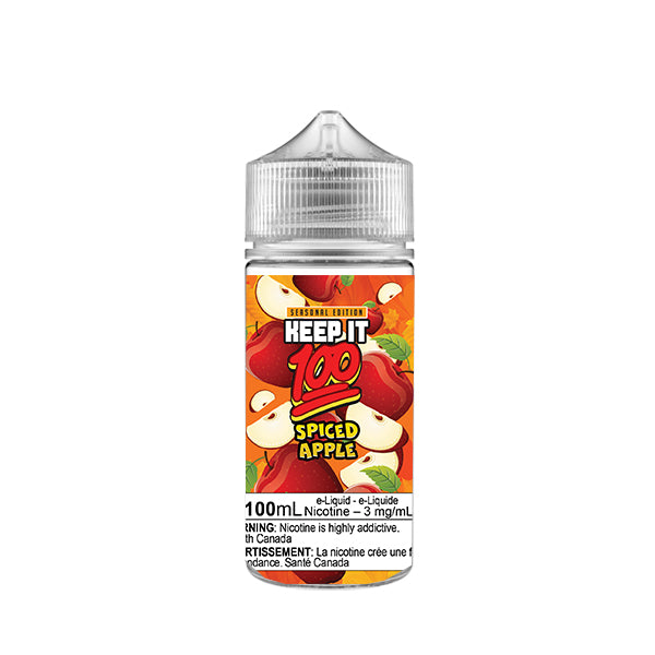 Apple Spice by Keep It 100 e-liquid - eMixologies Canada Online Vape Shop