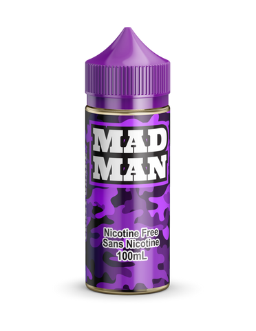 Crazy Grape by Mad Man e-liquid - eMixologies Canada Online Vape Shop