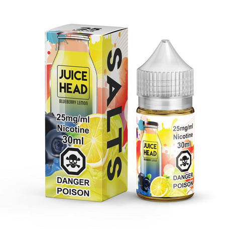 Blueberry Lemon SALT by Juice Head e-liquid - eMixologies Canada Online Vape Shop