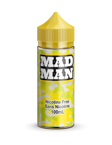Crazy Lemon by Mad Man e-liquid - eMixologies Canada Online Vape Shop