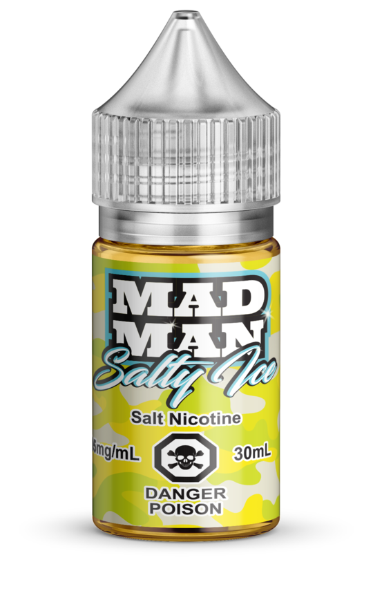 Crazy Lemon ICED Salt by Mad Man e-liquid - eMixologies Canada Online Vape Shop