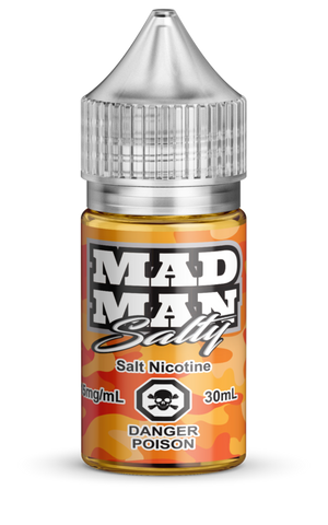 Crazy Orange ICED Salt by Mad Man e-liquid - eMixologies Canada Online Vape Shop