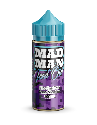 Crazy Grape ICED by Mad Man e-liquid - eMixologies Canada Online Vape Shop