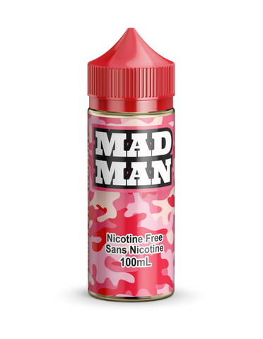 Crazy Strawberry by Mad Man e-liquid - eMixologies Canada Online Vape Shop