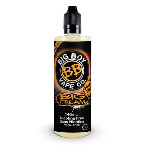 Big Cream by Big Boy e-liquid - eMixologies Canada Online Vape Shop