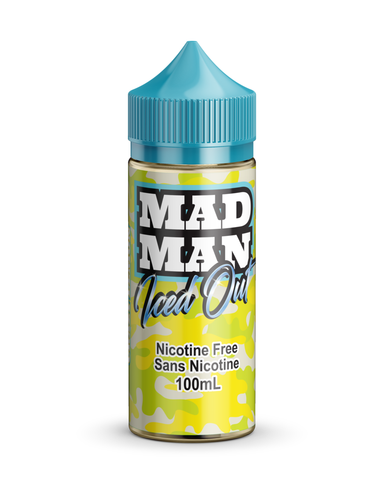 Crazy Lemon ICED by Mad Man e-liquid - eMixologies Canada Online Vape Shop