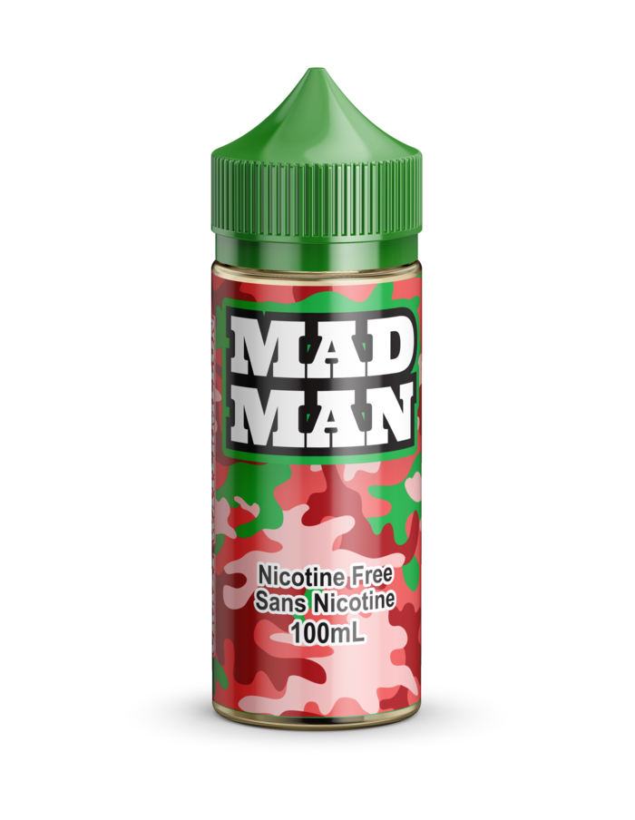 Crazy Watermelon by Mad Man e-liquid - eMixologies Canada Online Vape Shop