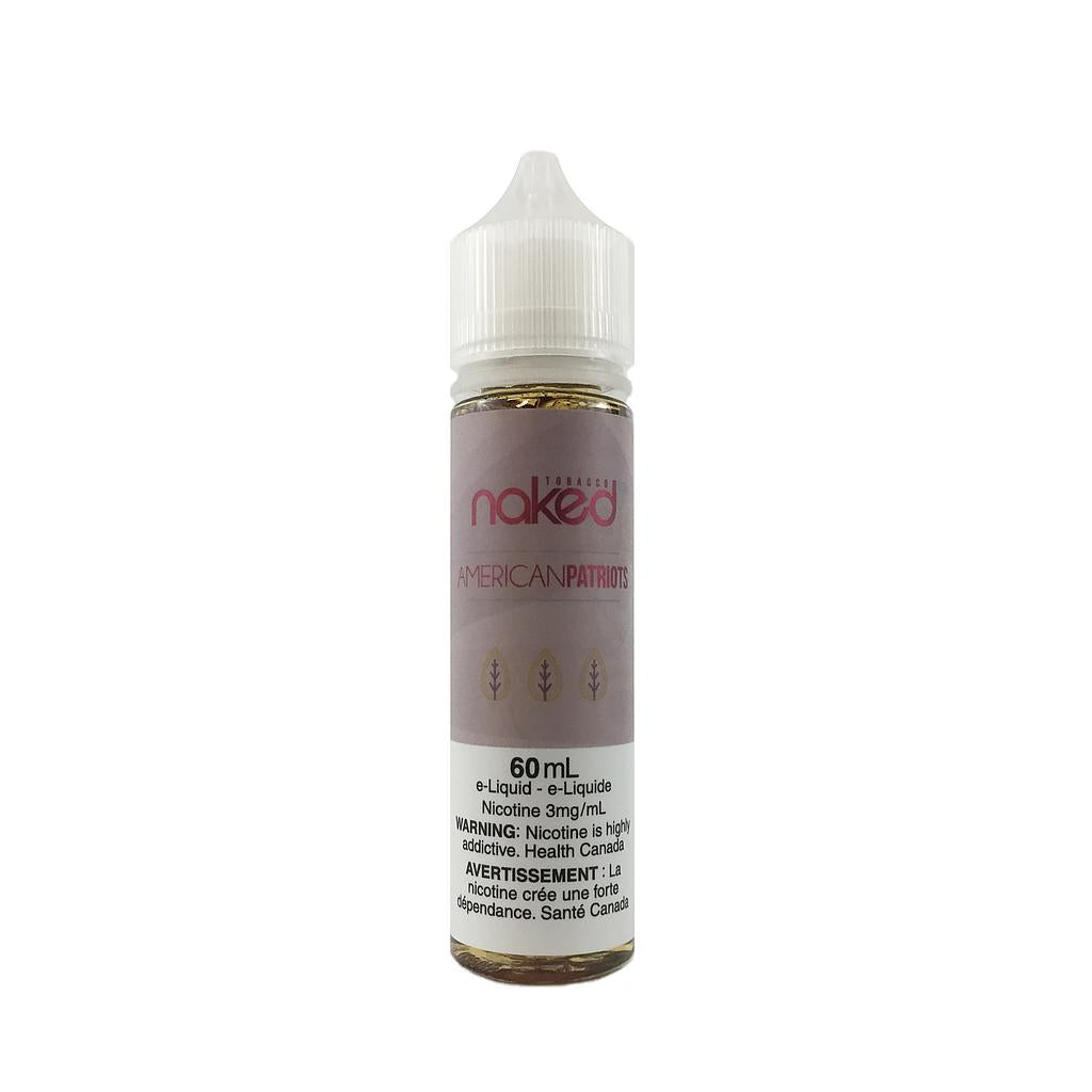 American Patriots by Naked e-liquid - eMixologies