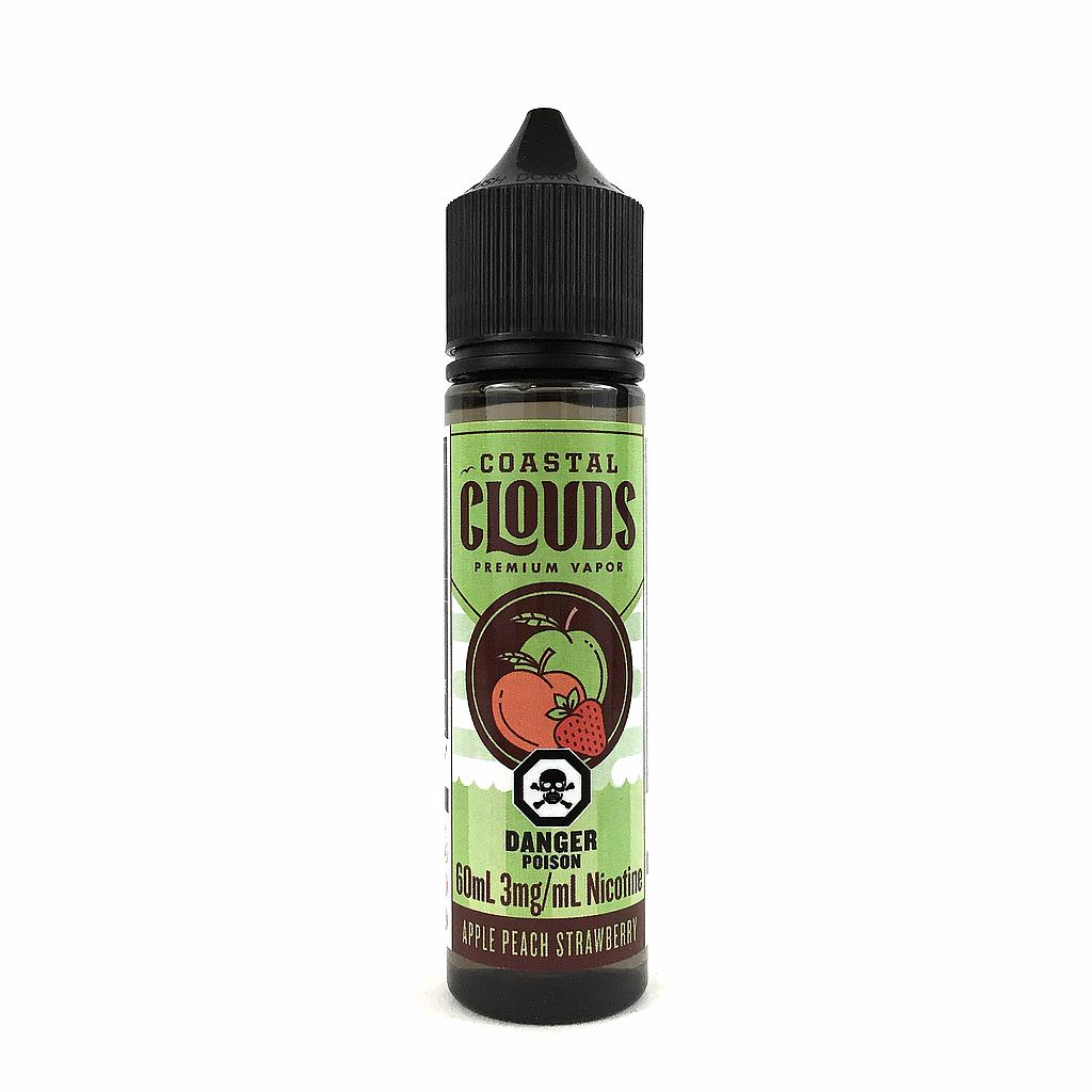 Apple Peach Strawberry by Coastal Clouds e-liquid - eMixologies Canada Online Vape Shop