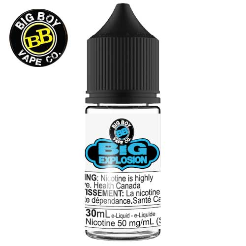Big Explosion SALT by Big Boy e-liquid - eMixologies Canada Online Vape Shop
