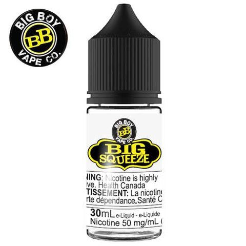 Big Squeeze SALT by Big Boy e-liquid - eMixologies Canada Online Vape Shop