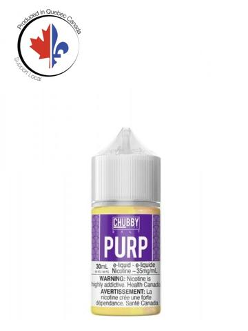 Bubble Purp SALT by Chubby e-liquid - eMixologies Canada Online Vape Shop