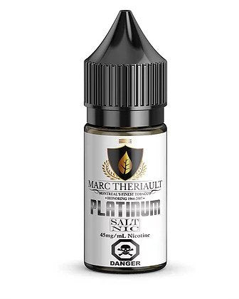 Marc Theriault Platinum SALT by Chateau Noir e-liquid - eMixologies Canada Online Vape Shop