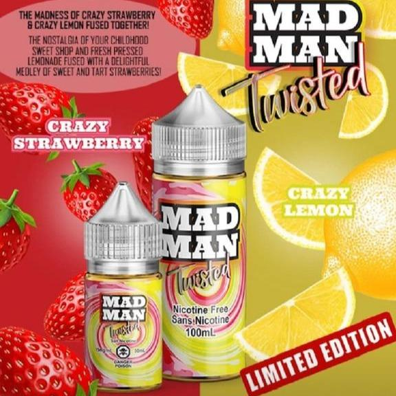 Twisted ICED by Mad Man e-liquid - eMixologies Canada Online Vape Shop