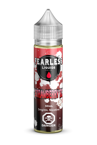 Fearless Strawberry RC by Chateau Noir e-liquid - eMixologies Canada Online Vape Shop