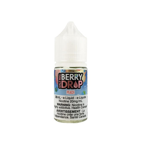 Peach SALT by Berry Drop e-liquid - eMixologies Canada Online Vape Shop