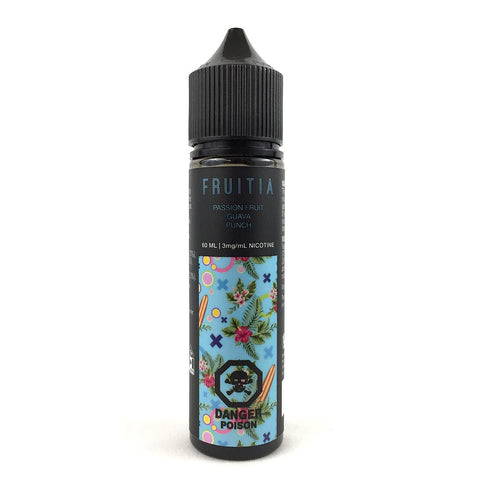 Passion Guava Punch by Fruitia e-liquid - eMixologies Canada Online Vape Shop