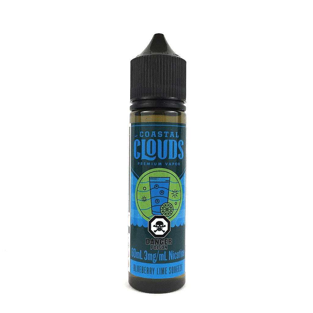 Blueberry Lime Squeeze by Coastal Clouds e-liquid - eMixologies Canada Online Vape Shop
