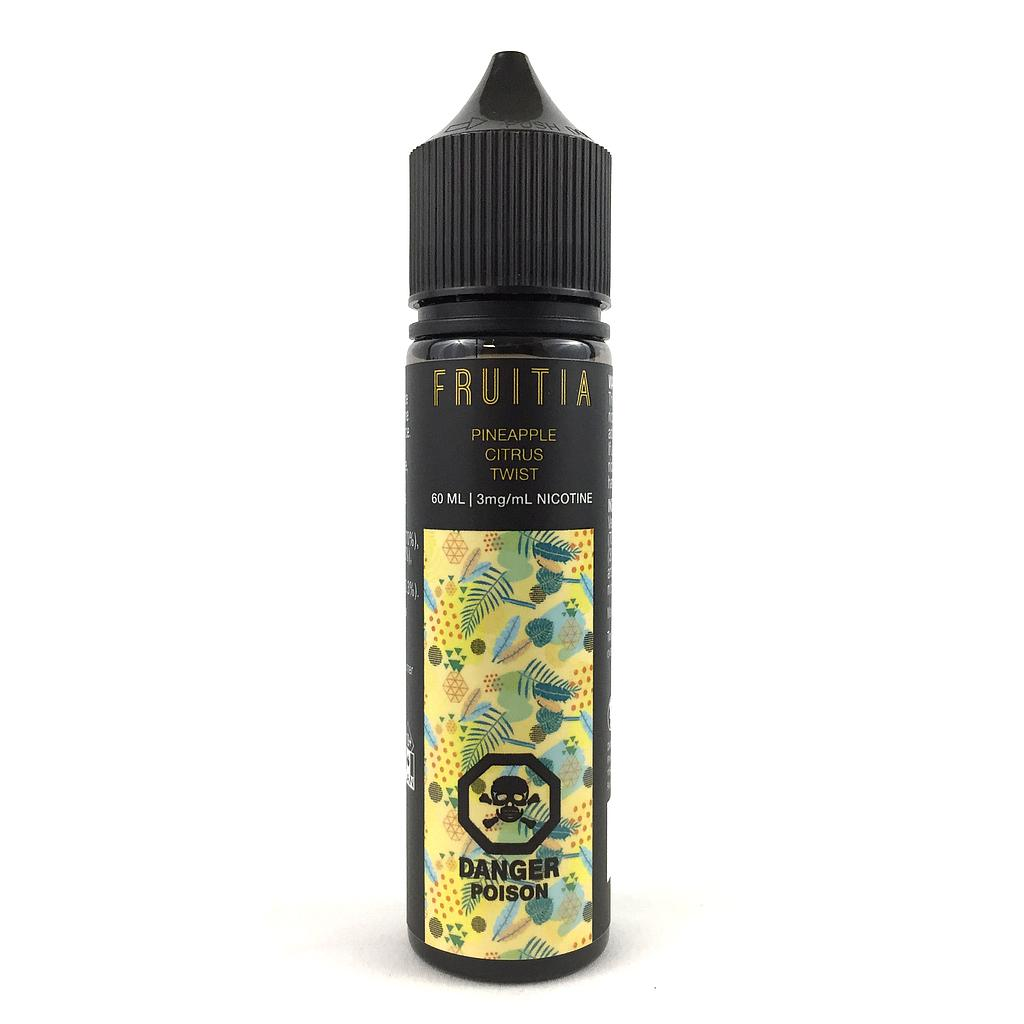 Pineapple Citrus Twist by Fruitia e-liquid - eMixologies Canada Online Vape Shop