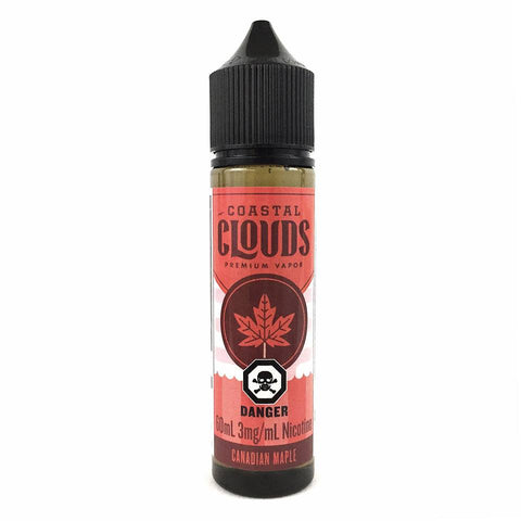 Canadian Maple by Coastal Clouds e-liquid - eMixologies Canada Online Vape Shop