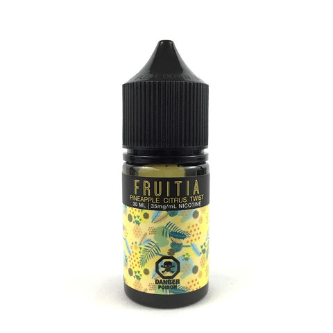 Pineapple Citrus Twist SALT by Fruitia e-liquid - eMixologies Canada Online Vape Shop