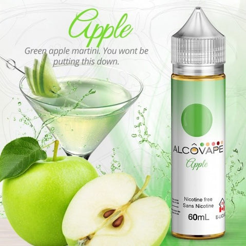 Apple by Alcovape e-liquid - eMixologies Canada Online Vape Shop