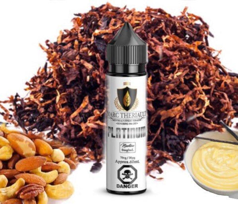 Marc Theriault Platinum by Chateau Noir e-liquid - eMixologies Canada Online Vape Shop