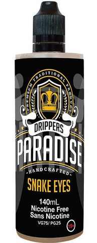 Snake Eyes by Drippers Paradise e-liquid - eMixologies Canada Online Vape Shop