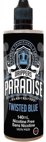 Twisted Blue by Drippers Paradise e-liquid - eMixologies Canada Online Vape Shop