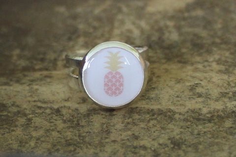 ring kids roze ananas