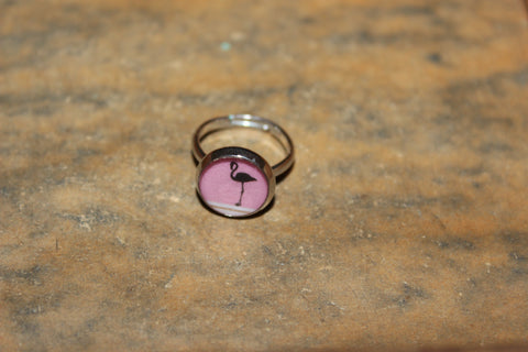 ring flamigo roze