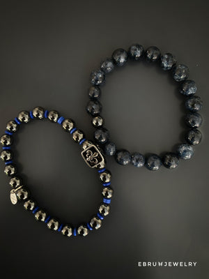 Mindfulness Mens Bracelet Set - EBRU JEWELRY