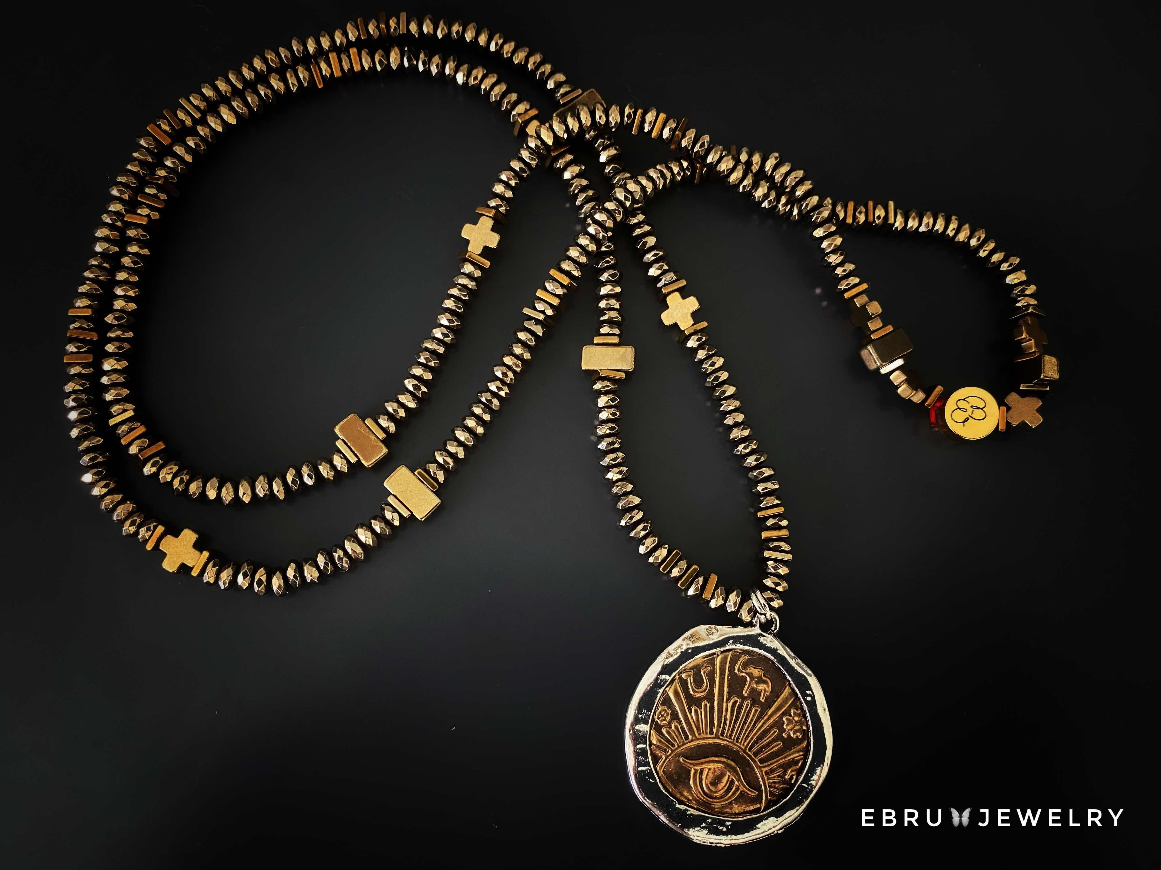 Special Symbols & Good Luck Necklace - EBRU JEWELRY