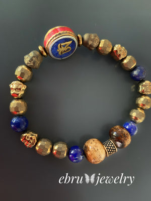 Buddha Eye Bracelet - EBRU JEWELRY