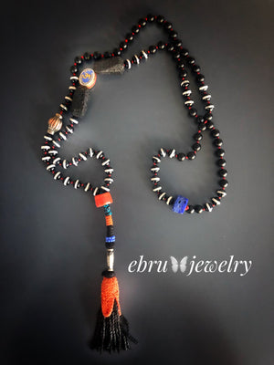 Tibetan Necklace - EBRU JEWELRY