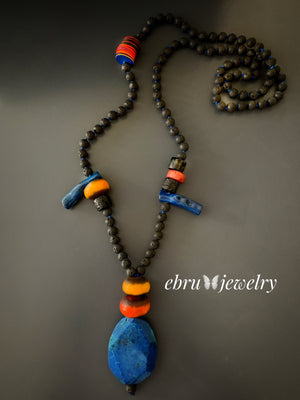 Bohemian Necklace - EBRU JEWELRY