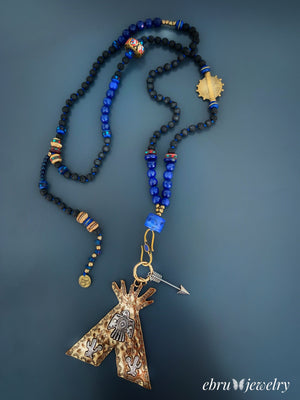 Protection Style Necklace - EBRU JEWELRY