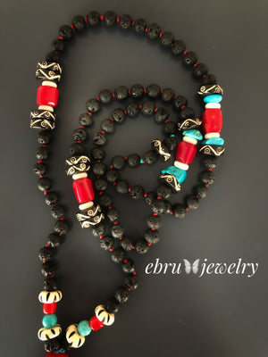Indian Necklace - EBRU JEWELRY