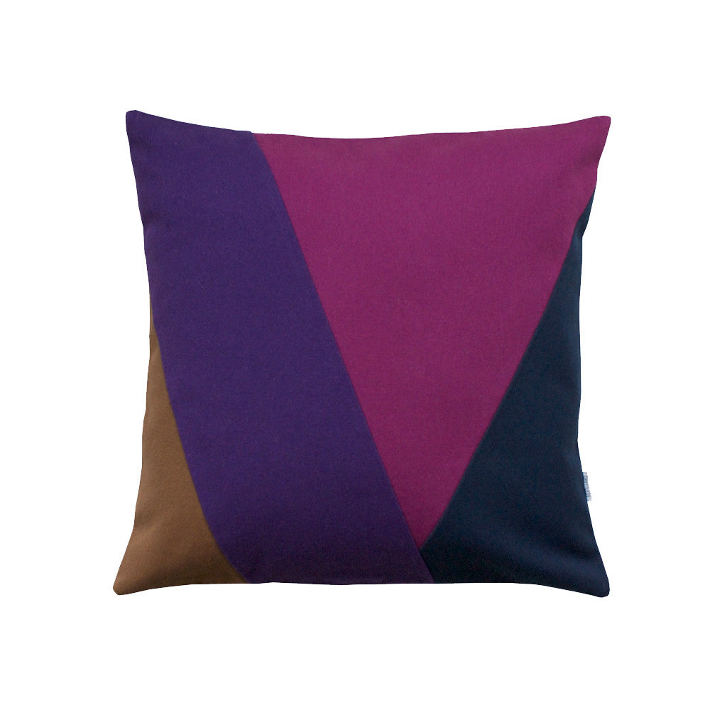 Multi colored throw pillow 20x20