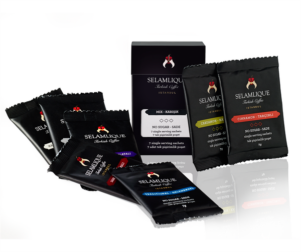 Selamlique Mini-Mixed Coffee Samples Pack