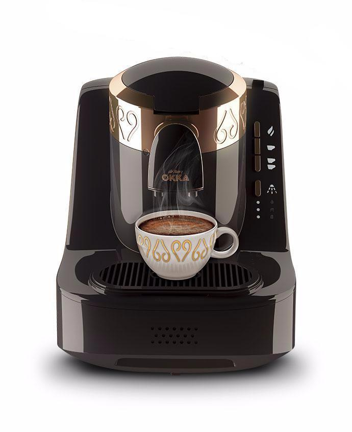 Arzum Okka Automatic Turkish & Greek Coffee Machine - Black & Gold