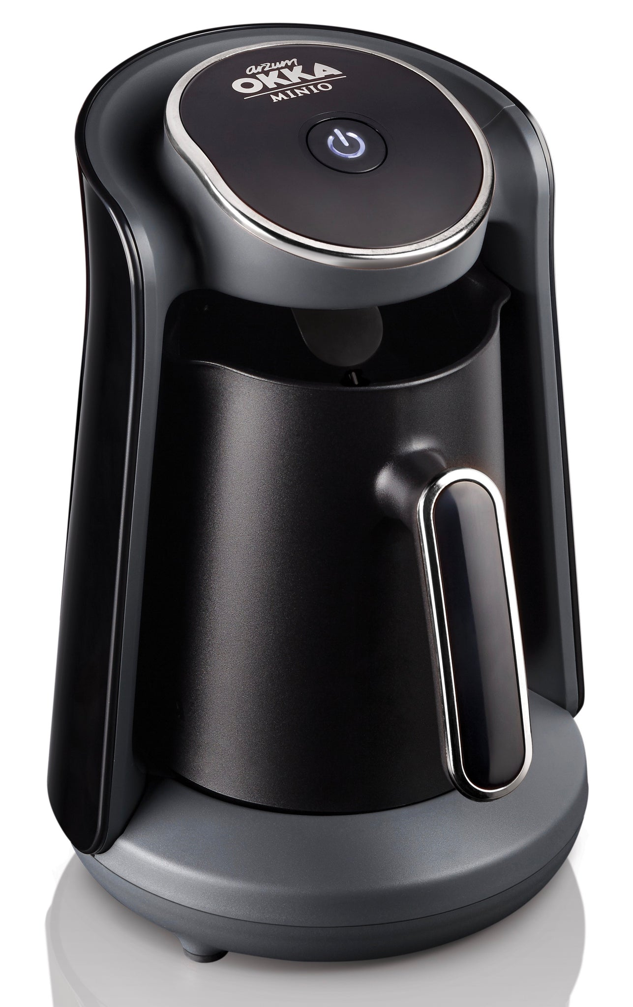 Arzum Okka Minio Turkish & Greek Coffee Machine - Black & Silver