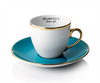 Classic Turkish Coffee and Cups Set (Turquoise)