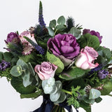 Nadia - Vintage Lilac Pink Roses Bouquet.