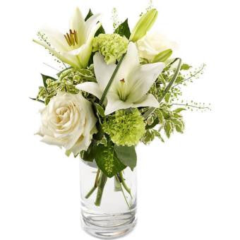 Mistletoe - Creamy White Christmas Bouquet.