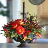 Luxury Christmas Table Centrepiece Joannes Florist Winchester.