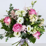 Pink Rose and Lisianthus Bouquet Joannes Florist Winchester